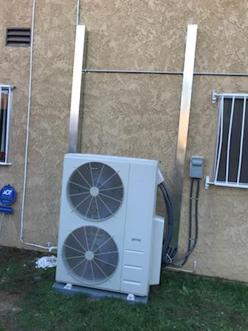 Gardena, CA - Installed 4 Mini split Systems in the city of Gardena, CA.