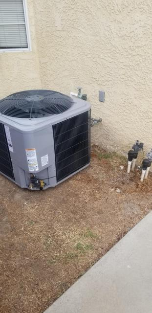 Lawndale, CA - Replaced the condenser, coil, and the furnace in the city of Lawndale, CA.