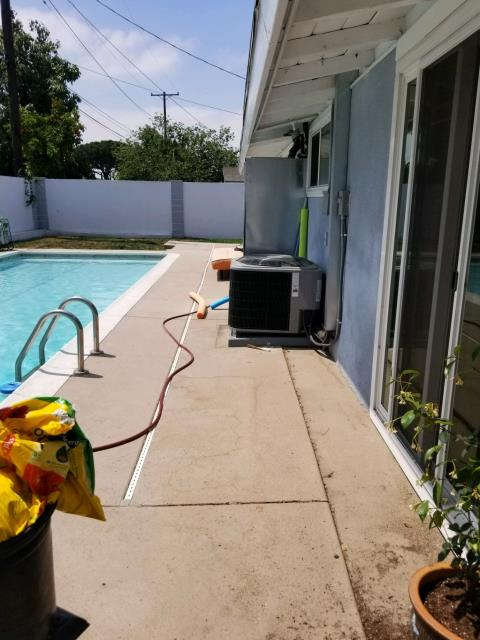 Anaheim, CA - Replaced the condenser, coil, and the furnace in the city of Anaheim, CA.