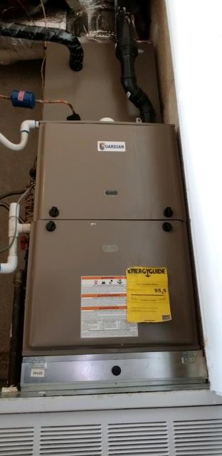Diamond Bar, CA - Replaced a gas furnace in the city of Diamond Bar, CA.