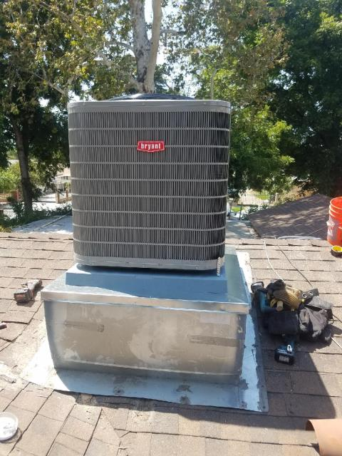 San Diego, CA - Installed a Condenser, Coil, and a Furnace in the city of San Diego, CA.
