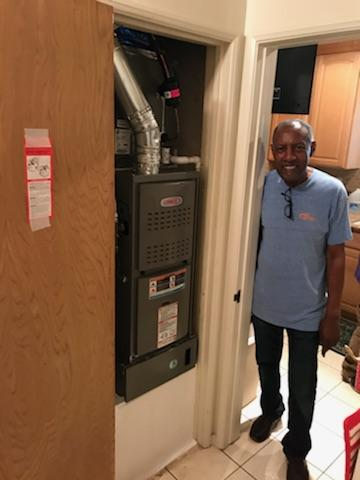 Gardena, CA - Replaced the condenser, coil, and the furnace in the Satisfied Lacy home located in the city of Gardena, CA.