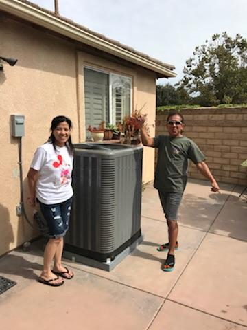 Moorpark, CA - Replaced the condenser, coil, and the furnace in the Happy Ramos home located in the city of Moorpark, CA.