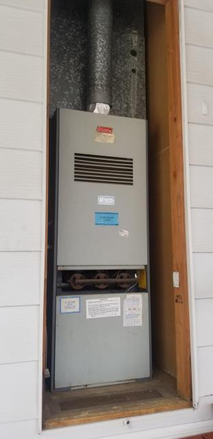 Thousand Oaks, CA - Replaced a gas furnace in the city of Thousand Oaks, CA.