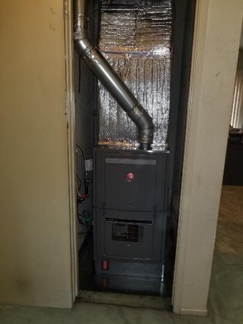 Hacienda Heights, CA - Replaced a furnace in the city of Hacienda Height, CA.