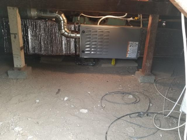 Inglewood, CA - Replaced a gas furnace in the city of Inglewood, CA.