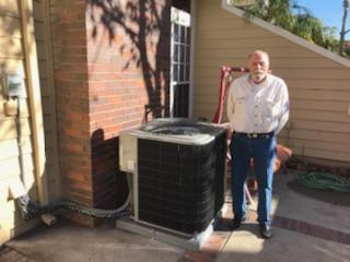Long Beach, CA - Replaced the Condenser, Coil, and Furnace in the Satisfied Engler home located in the city of Long Beach, CA.