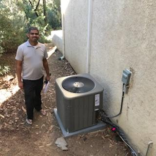 Oak Park, CA - Replaced a Condenser, Coil, and Furnace in the city of Oak Park, CA.