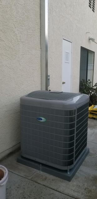 Rancho Palos Verdes, CA - Replaced a Condenser, Coil, and Furnace in the city of