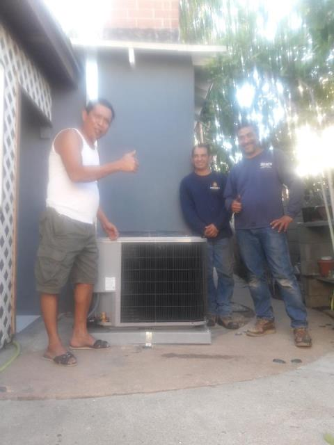 Carson, CA - Replaced a Condenser, Coil, and Furnace in the Satisfied Pureza home located in the city of Carson, CA.