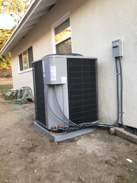 Inglewood, CA - Replaced a Condenser, Coil, and Furnace in the city of Inglewood, CA.