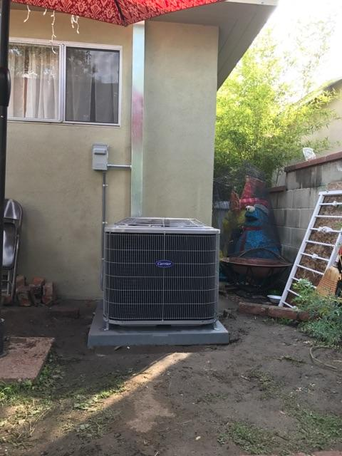 Cudahy, CA - Replaced a Condenser, Coil, and Furnace in the city of Cudahy, CA.