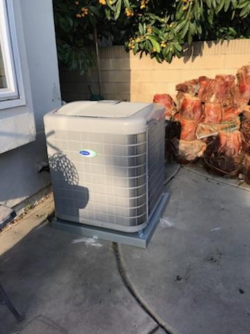 La Palma, CA - Replaced the condenser, coil, and the furnace in the city of La Palma, CA.