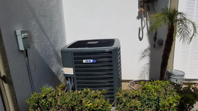 Yorba Linda, CA - Replaced the condenser, coil, and the furnace in the city of Yorba Linda, CA.