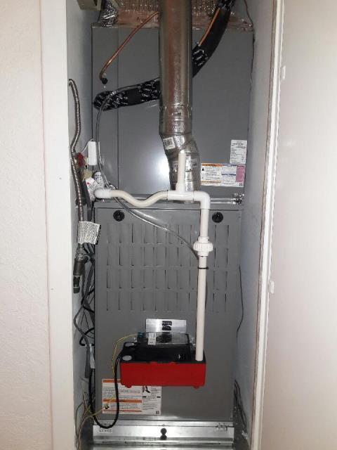 Long Beach, CA - Replaced a gas furnace in the city of Long Beach, CA.