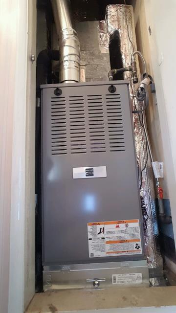 West Covina, CA - Replaced a gas furnace in the city of West Covina, CA.