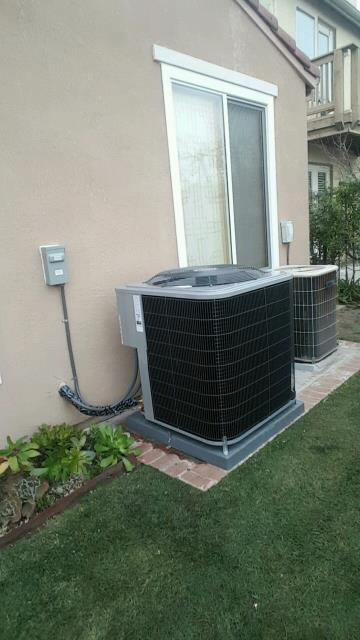 Los Angeles, CA - Replaced the condenser, coil, and the furnace in the city of Tujunga, CA.