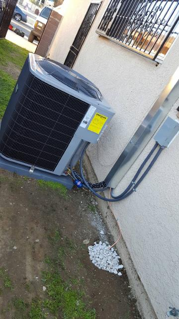 Carson, CA - Replaced the condenser, coil, and the furnace in the city of Carson, CA.