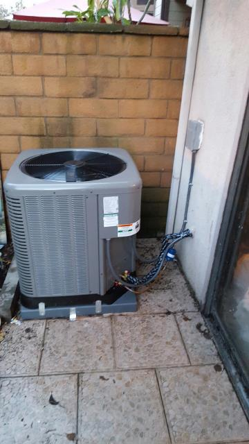 Huntington Park, CA - Replaced the condenser, coil, and the furnace in the city of Huntington Park, CA.