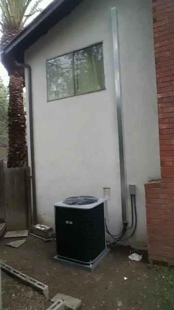 West Covina, CA - Replaced the condenser, coil, and the furnace in the city of West Covina, CA.