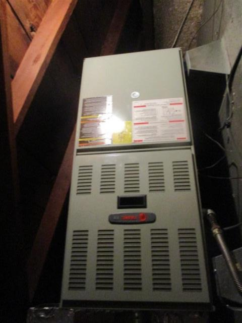 Compton, CA - Replaced a gas furnace in the city of Compton, CA.