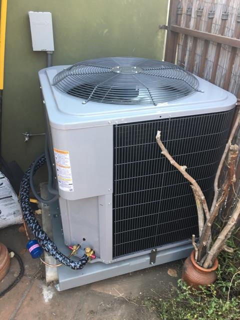 Los Angeles, CA - Replaced the condenser, coil, and the furnace in the city of Los Angeles, CA.