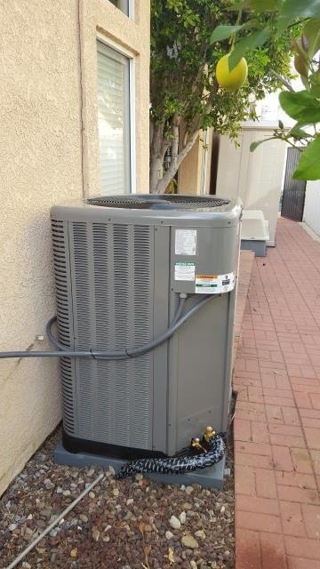 Rancho Cucamonga, CA - Replaced the condenser, coil, and the furnace in the city of Rancho Cucamonga, CA.