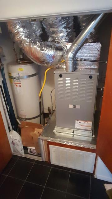Los Angeles, CA - Installed a new furnace in the city of Wilmington, CA.