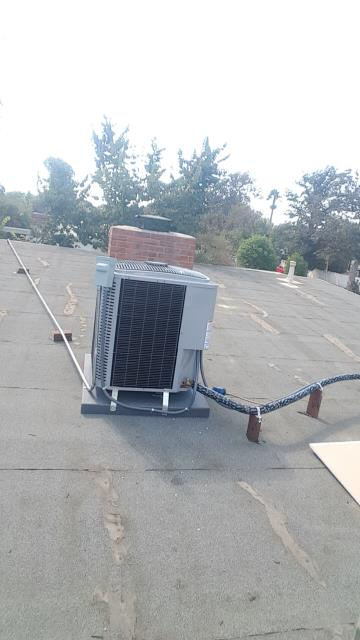 Los Angeles, CA - Replaced the condenser, coil, and the furnace in the city of Rededa, CA.