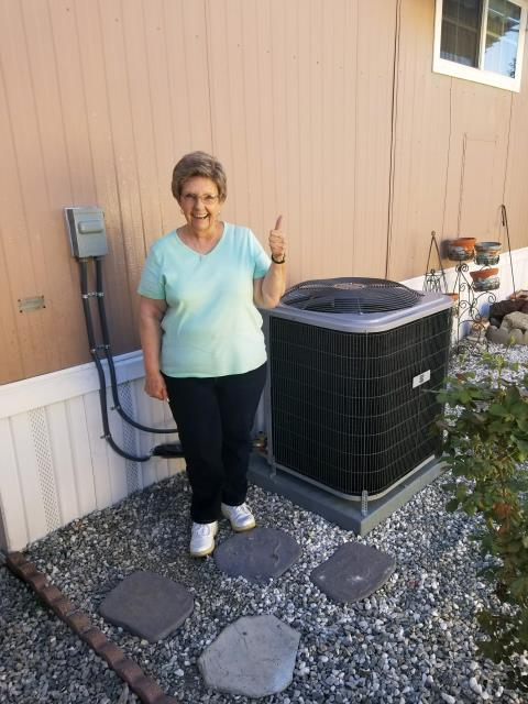 Paramount, CA - Replaced a condenser, coil, and a furnace in the Satisfied Burroughes home located in the city of Paramount, CA.