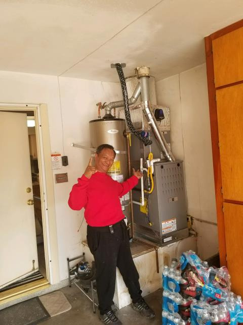 West Covina, CA - Replaced a condenser, coil, and a furnace in the Satisfied Llabres home located in the city of West Covina, CA.