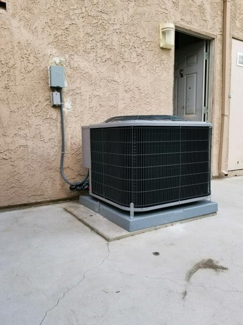 Bloomington, CA - Replaced a condenser, coil, and a furnace in the city of Bloomington, CA.