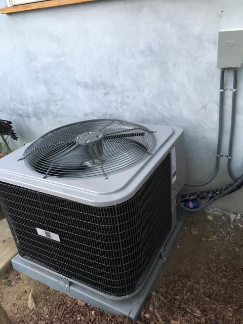 Pasadena, CA - Replaced a condenser, coil, and a furnace in the city of Pasadena, CA