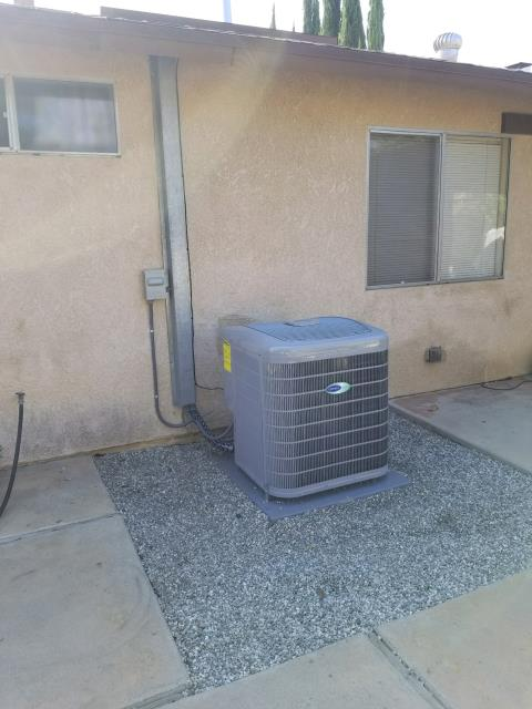 La Puente, CA - Replaced the condenser, coil, and furnace in the city of Hacienda Heights, CA.