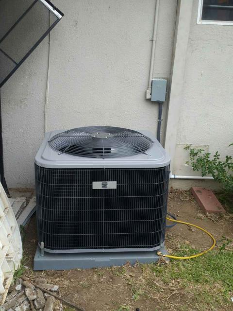 Duarte, CA - Replaced the condenser, coil, and furnace in the city of Duarte, CA.