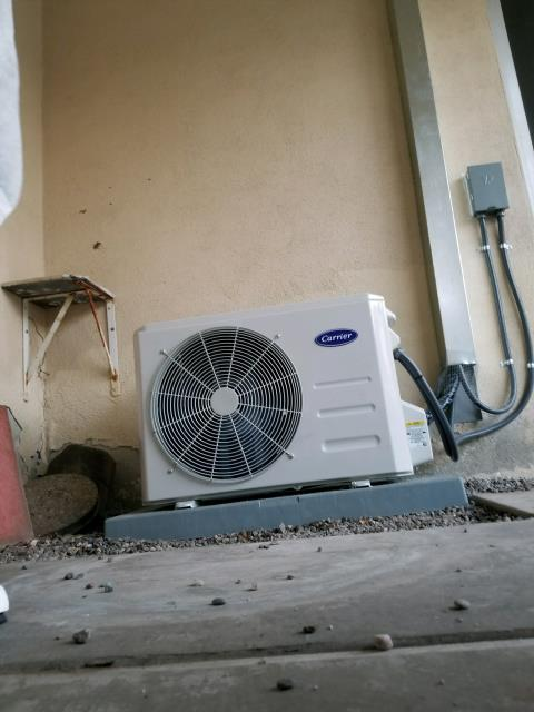 Los Angeles, CA - Installed a mini split system in the city Los Angeles, CA.