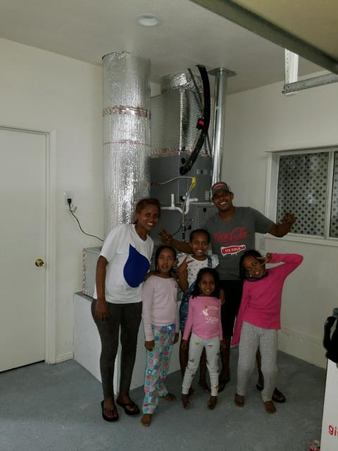 Covina, CA - Replaced the condenser, coil, and furnace in the Satisfied Kassa home located in the city of  Covina, CA.