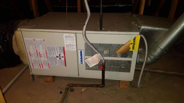 Huntington Beach, CA - Replaced a gas furnace in the city of Huntington Beach, CA.