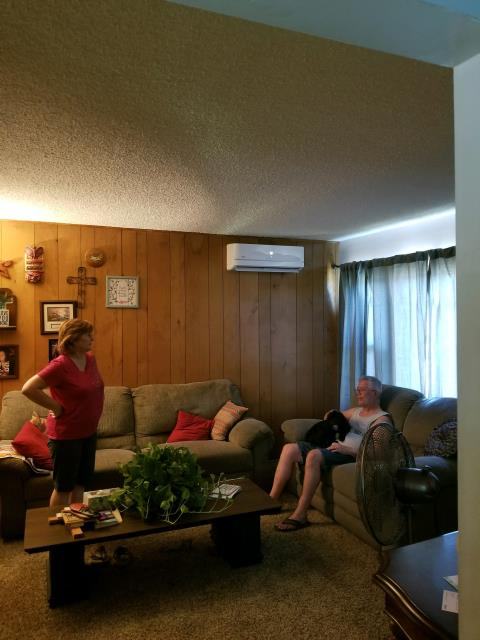 Glendora, CA - Installed a mini split system in the happy home of the Cox's located in the city of Glendora, CA