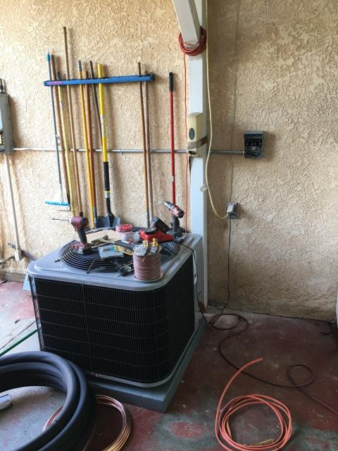 Los Angeles, CA - Replaced a condenser, coil, and a furnace in the city of Los Angeles, CA.