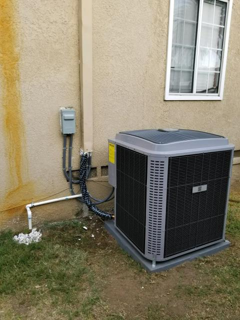 West Covina, CA - Replaced a condenser, coil, and a furnace in the city of West Covina, CA.