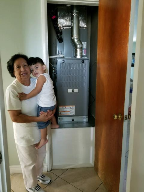 Los Angeles, CA - Replaced a condenser, coil, and a furnace in the city of Winnetka, CA.