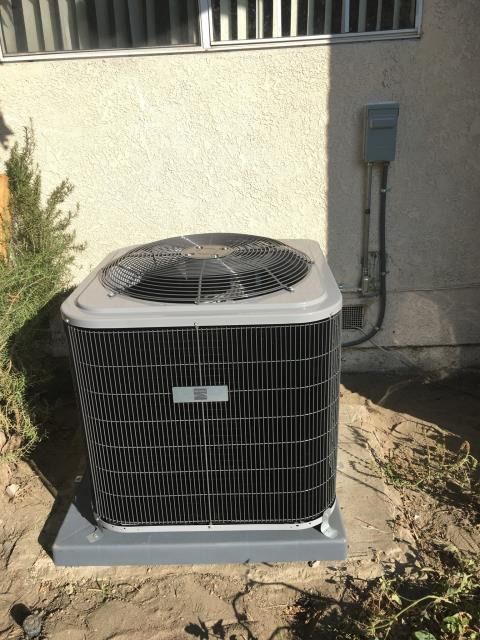Norwalk, CA - Replaced a condenser, coil, and furnace in the city of Norwalk, CA.
