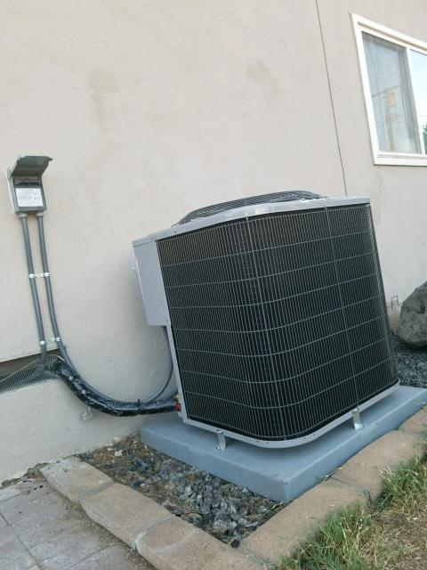 Upland, CA - Replaced a condenser, coil, and furnace in the city of Upland, CA.
