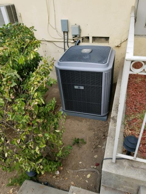 Azusa, CA - Replaced a condenser, coil, and furnace in the city of Azusa, CA.