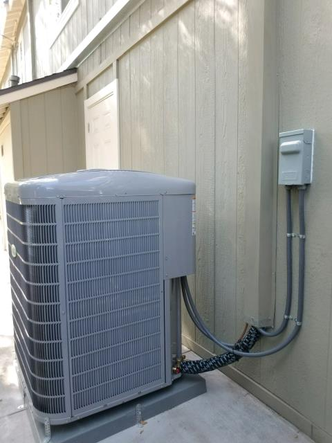 Pasadena, CA - Replaced a condenser, coil, and furnace in the city of Pasadena, CA.