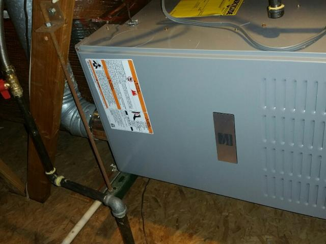 Los Angeles, CA - Replaced a gas furnace in the attic in the city of Los Angeles, CA.