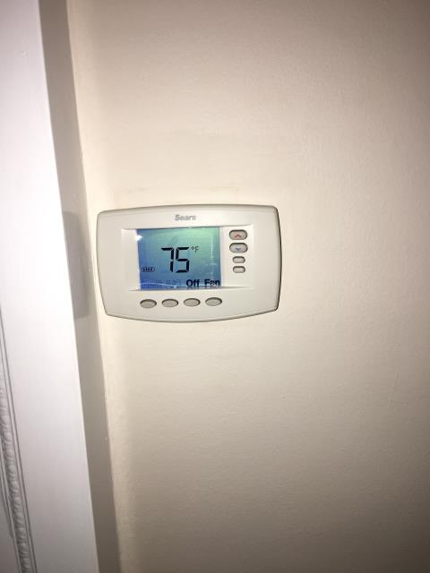 Long Beach, CA - Installed  gas furnace and a new digital thermostat in the city of Long beach, CA.
