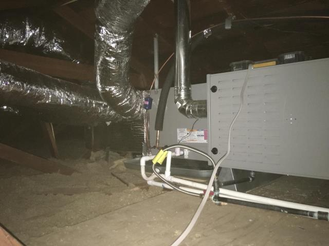 Pico Rivera, CA - Replaced a condenser, coil, and furnace in the city of Pico River, CA.