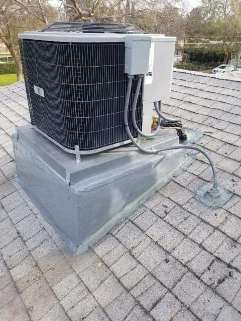 Los Angeles, CA - Replaced a condenser, coil, and furnace in the city of Granada Hills, CA.
